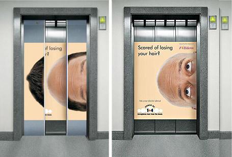 Elevator-Ads-Bald